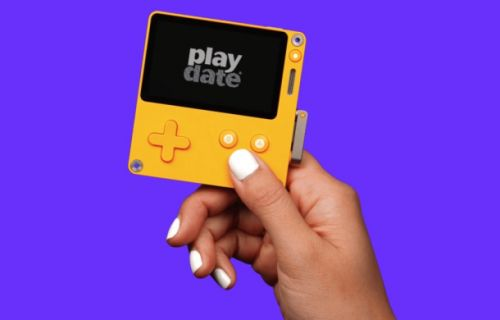 Playdate is an incredibly weird handheld console with a built-in crank, and I totally want it