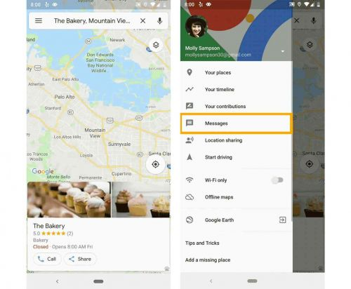 Google Maps apps adds business messaging as new Google My Business app released