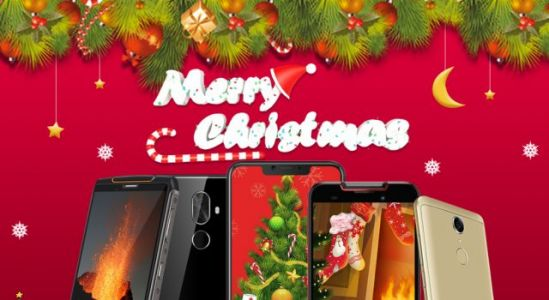Four CUBOT phones available cheaper in the Gearbest Xmas sale