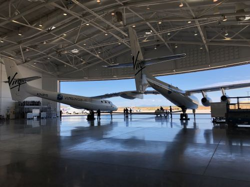 Virgin Galactic Inaugurated Its 'Gateway to Space' by Flying 'Eve' Over Spaceport America