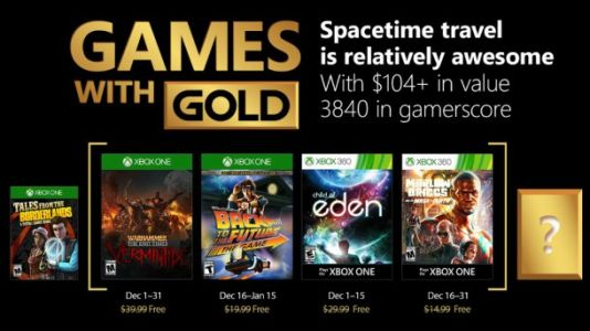 December Xbox Games With Gold Revealed, Including Vermintide, Back To The Future, Child Of Eden, And Marlow Briggs