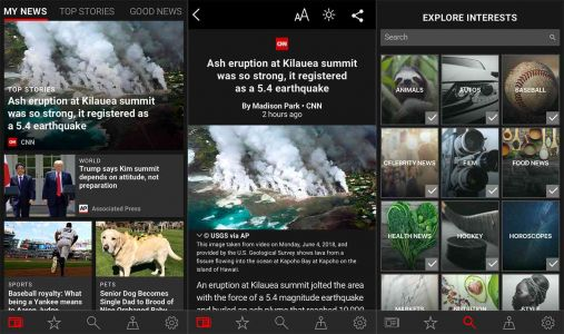 Microsoft News app arrives on Android and iOS with redesigned look, dark theme