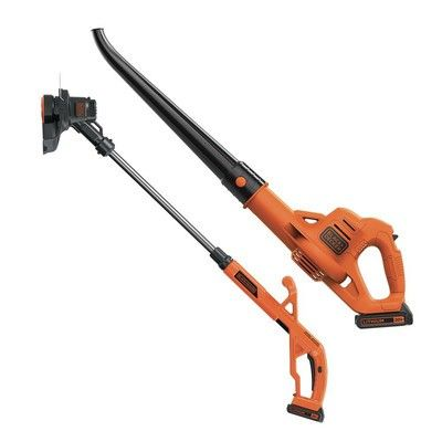 Grab a Black & Decker string trimmer and sweeper together for $61