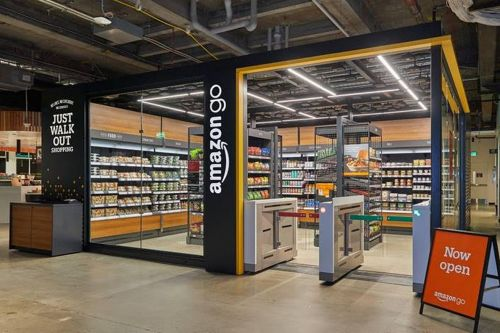 Amazon just launched a mini version of its cashier-less Go store in Seattle