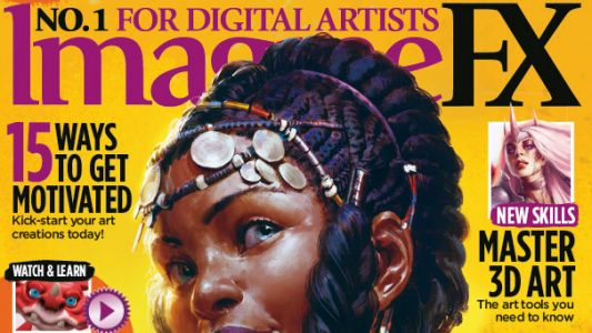 Take your digital art to new heights with ImagineFX