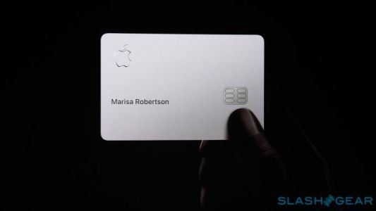 The physical Apple Card is a thing of beauty