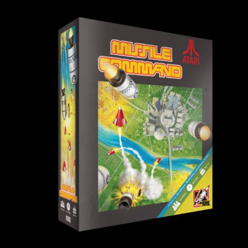 Hands On Overview: MISSILE COMMAND Brings A Retro Video Game to the Tabletop
