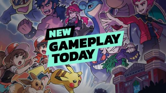 New Gameplay Today - Pokémon: Let's Go Pikachu & Eevee
