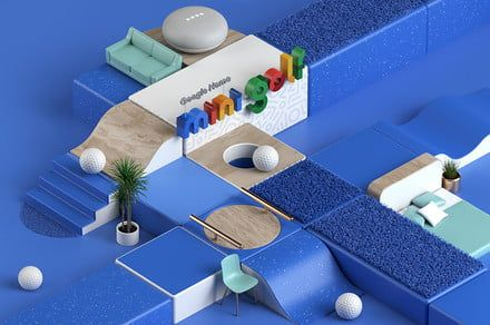 Google's mini-golf pop-up event in NYC highlights its smart home products