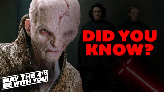 DID YOU KNOW: Star Wars Day Edition - Snoke Spoils Movie Titles, Batman Easter Egg, and George Lucas' Cameo