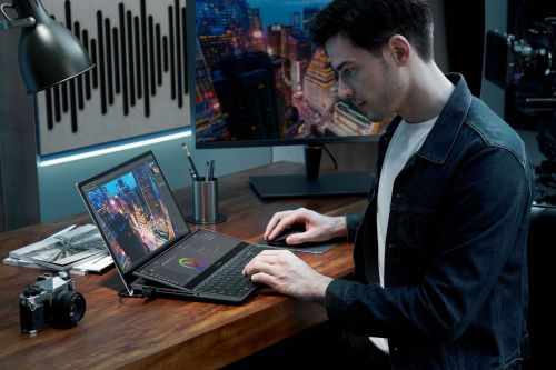 Asus' 2021 laptop line includes two new dual-screen ZenBooks