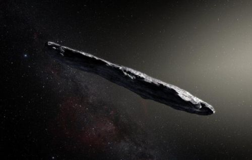 Our first interstellar visitor is a long, ominous asteroid