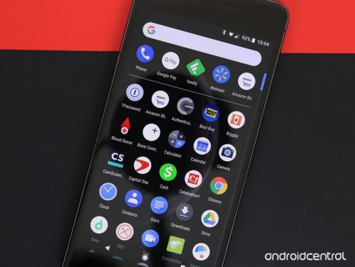 Android P may launch with a native dark theme