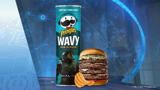 Pringles' Newest Flavour Tastes Like an Extinct Animal. From Halo: Reach