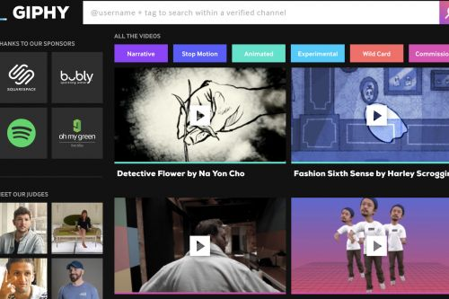 Giphy launches short video platform following first film festival