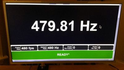 480Hz gaming monitors are incoming if prototype screen is to be believed