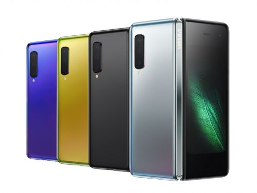 The Galaxy Fold is samsung's first foldable phone, priced at $1,980