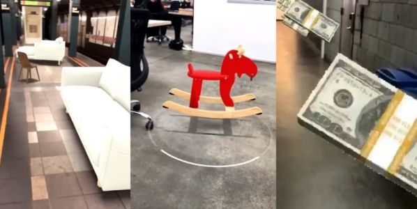 Check out the weird things people are doing with ARKit apps