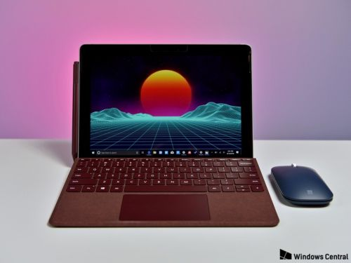 Surface Go firmware updates bring Surface Pen and security fixes
