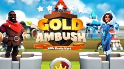 Gold Ambush is a family-friendly, hybrid strategy game featuring American actor Kevin Hart