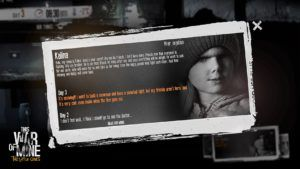 This War of Mine:  The Little Ones - C'est pas ma guerre !