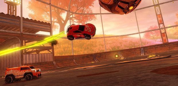 Rocket League autumn update hits 28th with a farm map