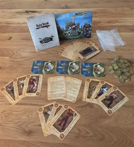 Crimson Company Card Game Now Available