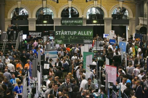 Apply to exhibit - for free - in Startup Alley at Disrupt Berlin