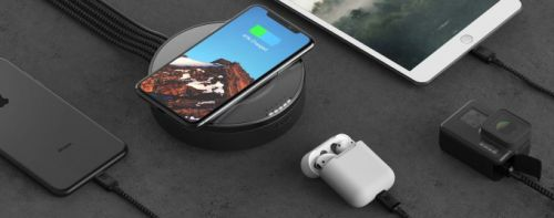 Nomad's new wireless charging hub is a traveler's best friend