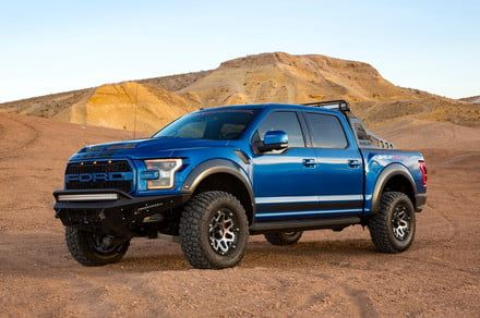 As if the Ford Raptor wasn't mean enough, Shelby gave it some more attitude