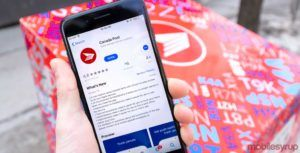 Canada Post app on iOS now syncs with iCloud