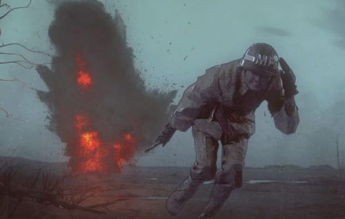 Netflix World War 2 drama is first series created using live-action animation tech