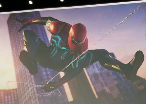 New Suit Shown Off For Insomniac's Spider-Man