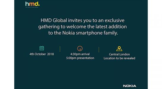 HMD Global sending invitations to October 4th event as Nokia 7.1 Plus leaks
