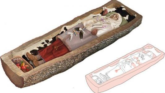 Iron Age Celtic Woman Buried in 'Tree Trunk Coffin' Discovered in Switzerland