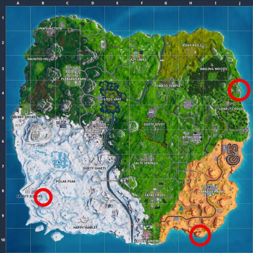 Fortnite Guide: Dance On Crown Of RV's
