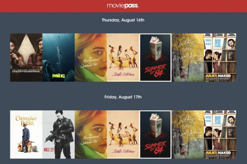The new MoviePass plan has arrived, and it's weird