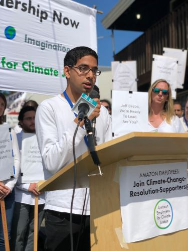 Climate justice and environmental ethics in tech, with Amazon engineer Rajit Iftikhar