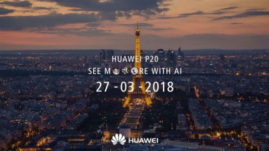Huawei P20 Officially Confirmed To Launch On March 27