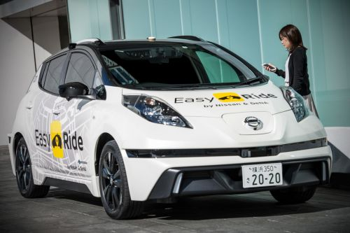 Nissan plans to launch its own self-driving taxi service in Japan