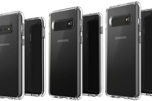 Leaked image shows off three variants for the Samsung Galaxy S10 lineup