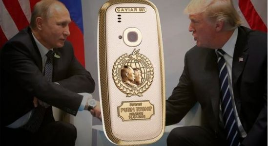 Caviar launches Nokia 3310 Peacemakers edition to commemorate Trump-Putin meeting in Helsinki