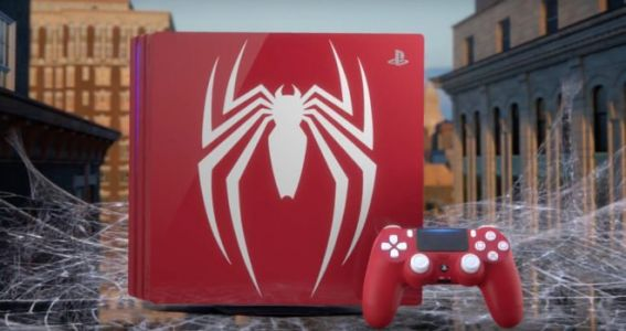 """Spider-Man:  Marvel s'associe avec Sony pour une PS4 Pro """"Amazing Red"""""""