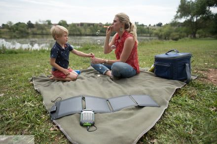 Stay fully charged anywhere with Energizer PowerKeep solar products