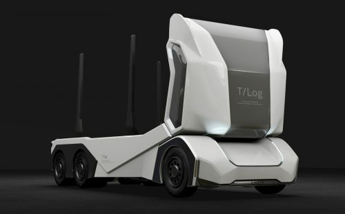 Einride's T-log Is a Self-Driving Truck Made for the Forest