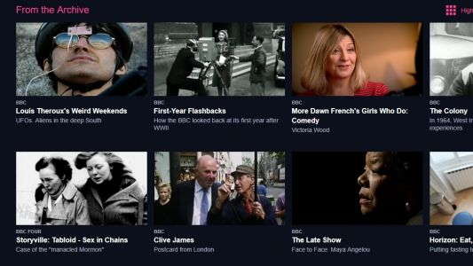 BBC's From the Archive brings a Netflix-style library to iPlayer