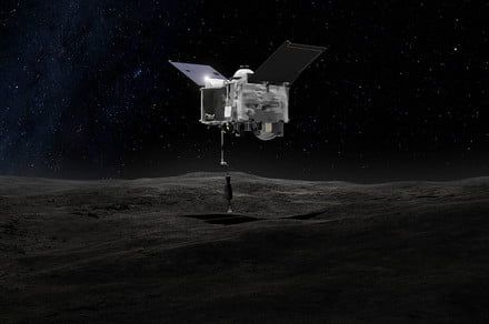 OSIRIS-REx spacecraft successfully tests its asteroid sampling arm