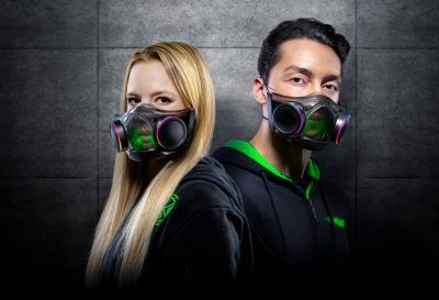 Razer's Zephyr smart face mask is now available for $100