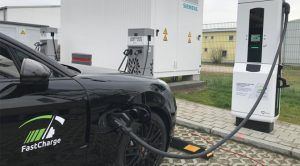 BMW, Porsche Demo Super-Fast Electric Car Charger