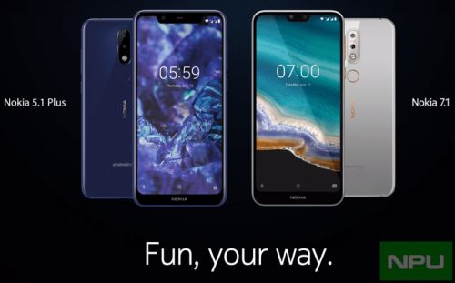 Watch: New official Nokia 7.1 & 5.1 Plus promo videos